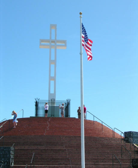 Mt. Soledad Cross Lajolla California